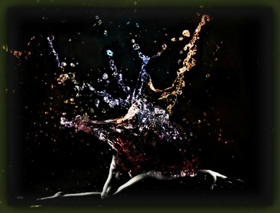 Water Splash Woman by Missi Lynn Boness