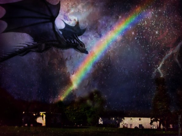 Rainbow and Dragon